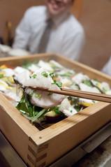 旬の魚の蒸篭蒸し, 霧乃個室 蒸し屋清郎, 渋谷