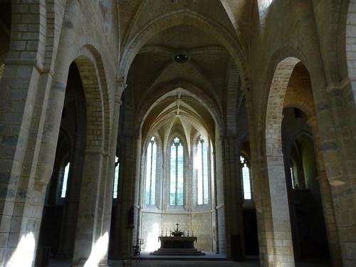 Loc Dieu Abbey Abbaye de Loc Dieu L'église