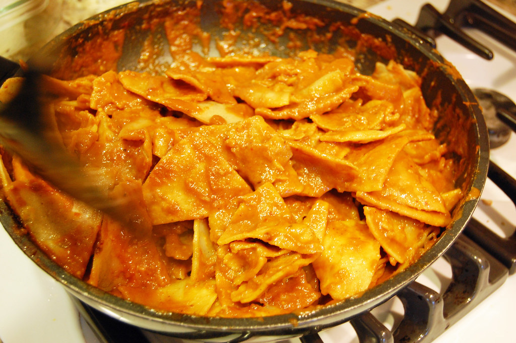 Masa Assassin: Chilaquiles Recipe