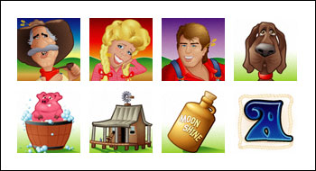 free Hillbillies slot game symbols