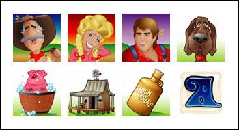 free Hillbillies slot game symbols