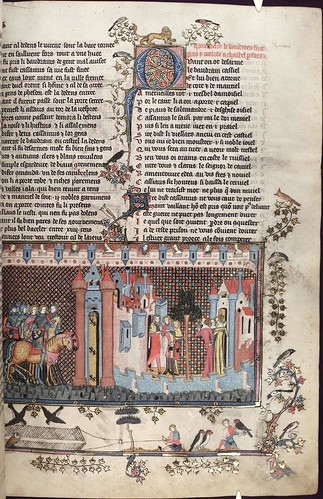 The Romance of Alexander 119r MS. Bodl. 264