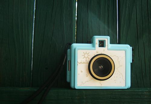 Golden Half camera