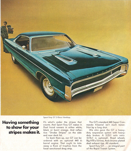 1970 Plymouth Sport Fury GT