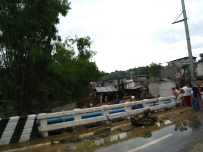 Taytay Road From Ondoy Flood