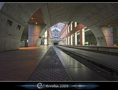 Enter Antwerp - Central Station (Erroba) Tags: photoshop canon underground concrete rebel belgium belgique tripod tracks belgi sigma railway tunnel tips remote antwerp centraalstation publictransport 1020mm erlend hdr antwerpen anvers oldnew cs3 3xp photomatix tonemapped tonemapping xti 400d erroba homersiliad robaye erlendrobaye