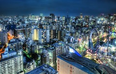 Tokyo at Dusk - Blade Runner Extreme (Stuck in Customs) Tags: travel blue urban color japan skyscraper work buildings scott fun photography japanese tokyo high nikon october colorful asia punk downtown cityscape dynamic stuck outdoor dusk district dick extreme center special roller civic metropolis blade ward runner gibson coaster range bunkyo philip 2009 hdr trey cyber customs ridley simcity tecno ratcliff stuckincustoms d3x treyratcliff alfiegoodrich