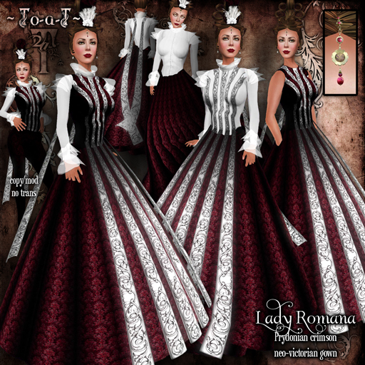 Lady-Romana-PrydonianCrimson-Disp