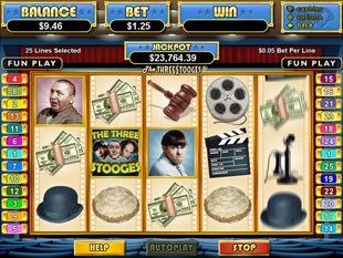 The Three Stooges slot game online review