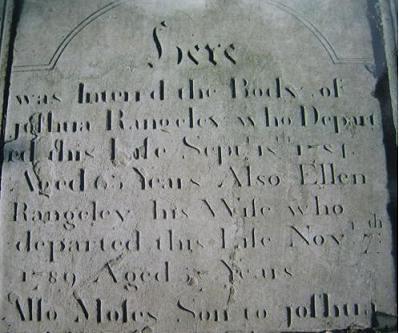 Joshua's Gravestone
