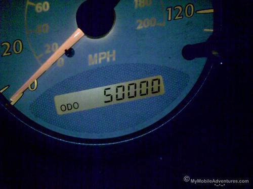 Odometer = 50K