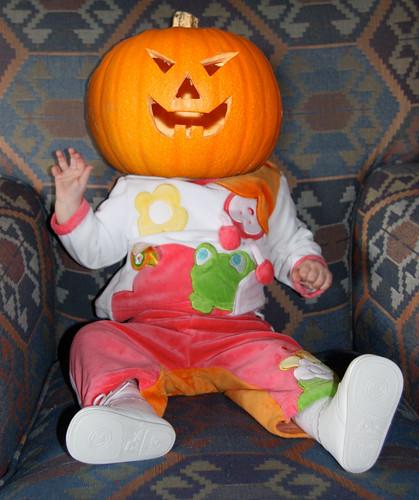 Nora Pumpkin Head