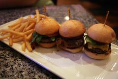 Burger Bar Sliders (Fred_T) Tags: canon rebel restaurant angus burger nevada plate frenchfries fries hamburger organic bison sincity losvegas sliders burgerbar xti hubertkeller