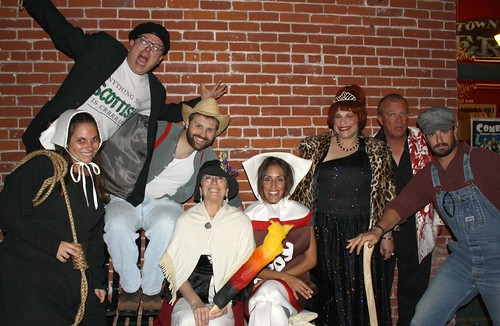 Members of Ventura Improv Company