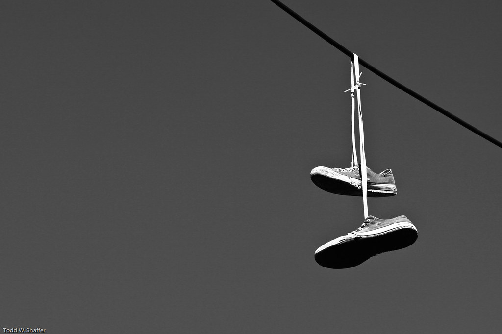Hanging Pictures On Wire the world's best photos of hangingshoes and wire - flickr hive mind
