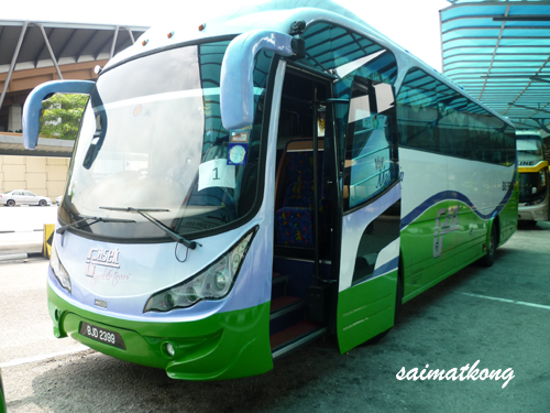 Nuffnang Awards Bus To Singapore