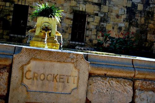 Alamo Water Fountain