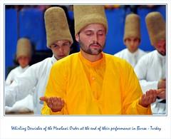 Whirling Dervishes of the Mawlawi Order in Bursa (Photography by Ati GeReB) Tags: turkey dance muslim sema ila sufi dervish bursa dervishes rumi konya mevlevi whirlingdervishes mevlana semazen mevlâna jelaleddin sufiorder photobygereb mawlawiorder