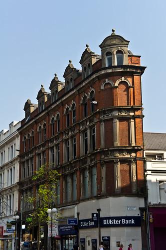 Belfast - Royal Avenue (Street Sign: Rosemary Street)