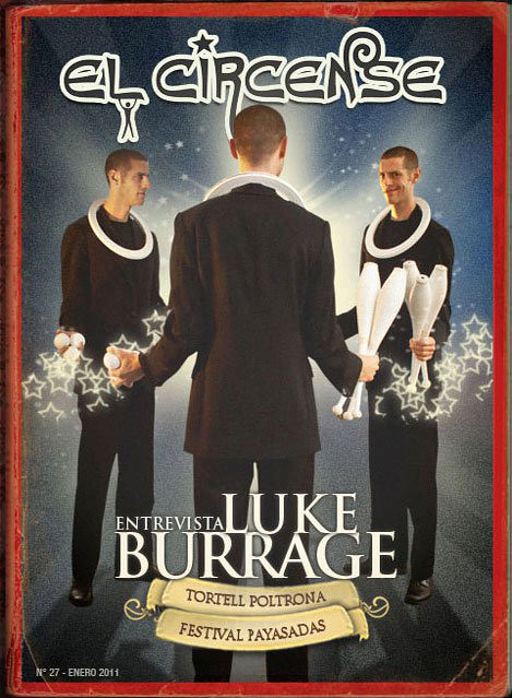 Luke Burrage Cover El Circense Magazine