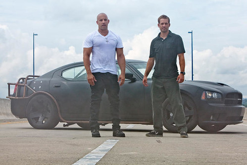 Dom Toretto (VIN DIESEL) and Brian O'Conner (PAUL WALKER)