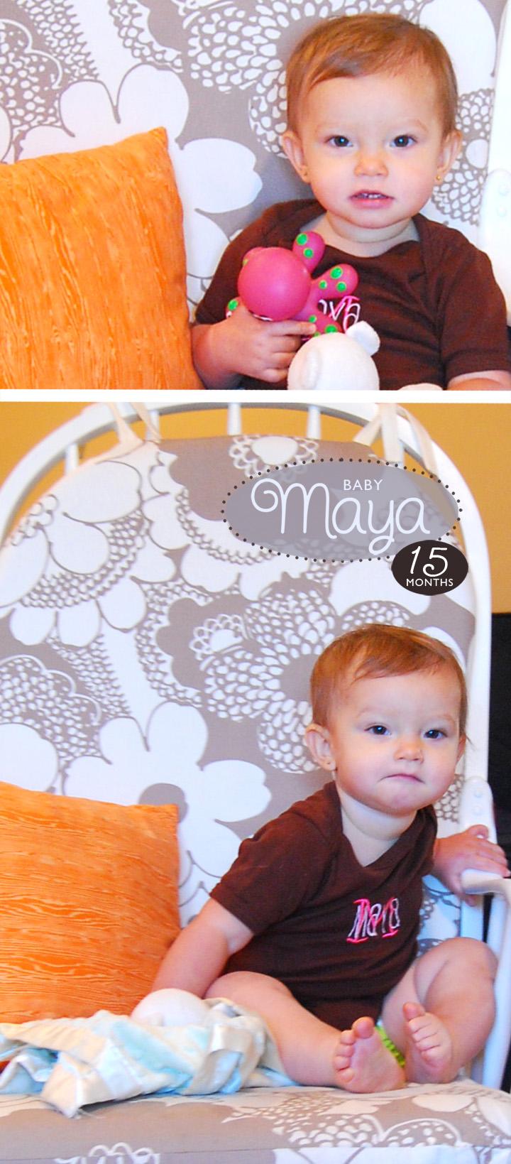 Maya15Months