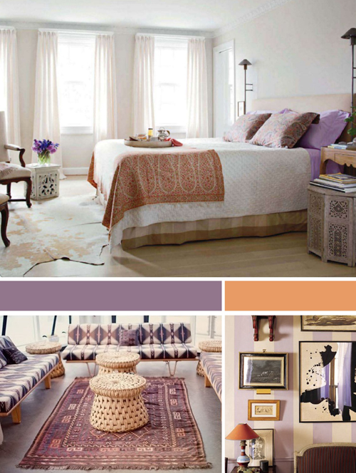 lilac+peach+color+inspiration