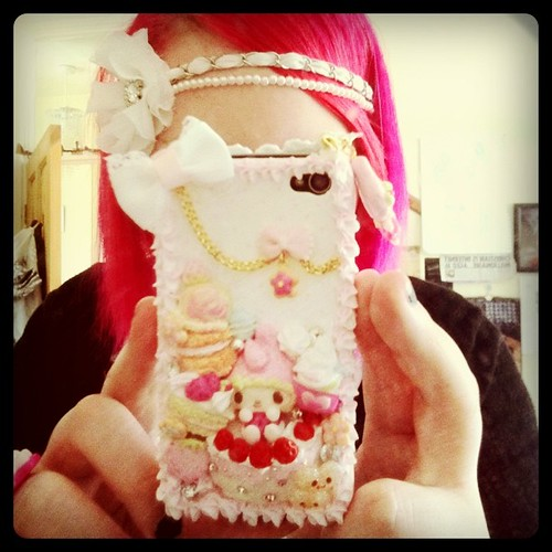 My new phone case! Shame it was broken when I got it :/