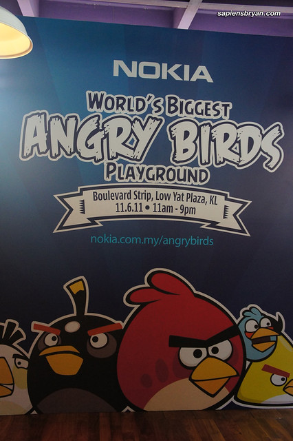 Nokia's World's Biggest Angry Birds Playground