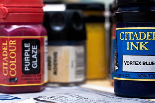 Paints and inks