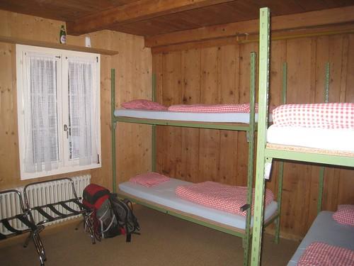 Dorm room at Balmer's in Interlaken