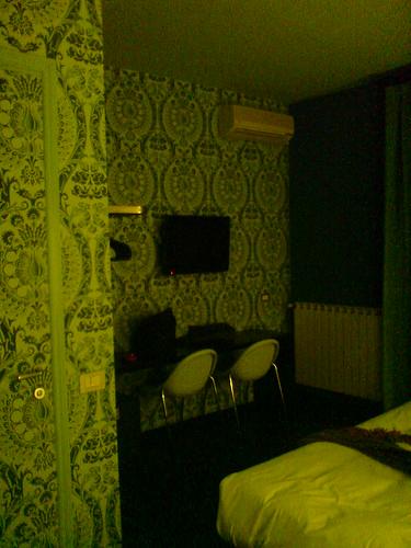 綠  壁紙