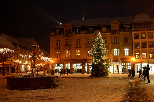 Ettlingen night town II