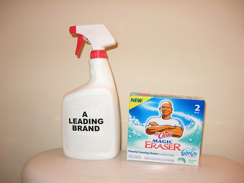 Mr. Clean Magic Eraser Challenge