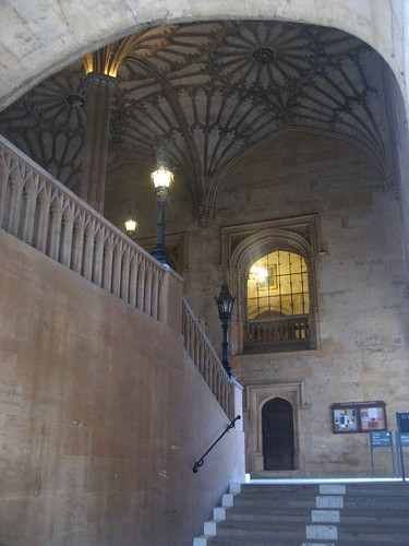 Stairway Outside The Great Hall of Hogwarts
