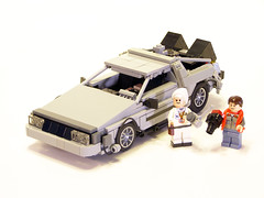 1.21 Gigawatts!!! (Legohaulic) Tags: lego flux 121 capacitor doc delorean backtothefuture timemachine martymcfly gigawatts