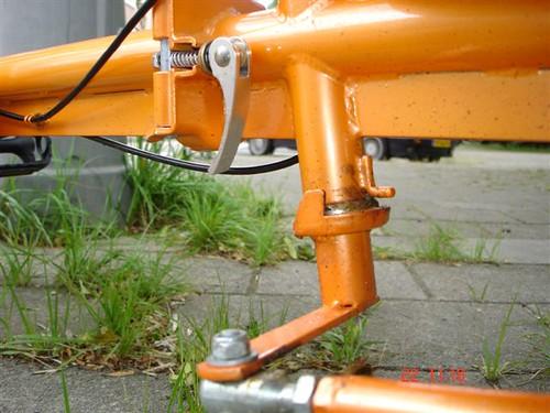 bakfietsweb steering system