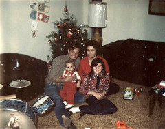 Christmas Mid 70's (moyerva34) Tags: pictures old family white black color vintage children texas north grandparents 70s 1970s