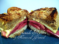 Homemade Reuben (Momma Cupcake) Tags: homemade ryebread cornbeef thousandislanddressing