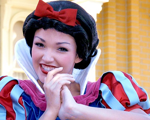 """""""Some Day My Prince Will Come"""" -- Snow White at Disney World"""