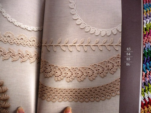 Crochet Edging and Braid Book