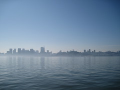 San Francisco Skyline from the Larkspur Ferry