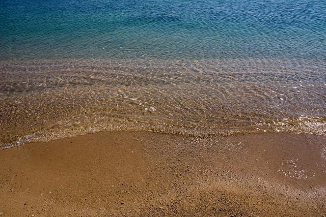 El mar, com un plat