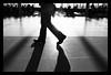 Keep Walking (anita gt) Tags: white black feet blanco walking person persona airport negro pies aeropuerto bianco nero caminando guate flickrgt