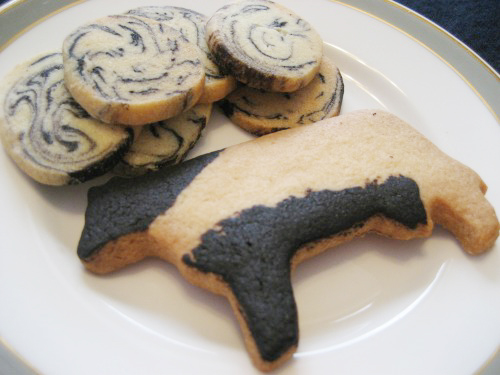 "Cows Sable & Milk Cocoa Cookies ""Mirukoko"""