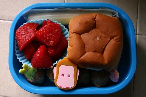 Preschooler Bento #135: February 4, 2009
