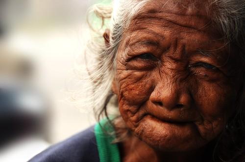 フリー写真素材, 人物, 老人・高齢者, おばあちゃん・おばあさん, フィリピン人,