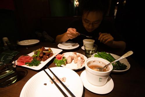和飞猪老师吃饭