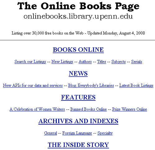 Free Pictures Online The Online Books Page