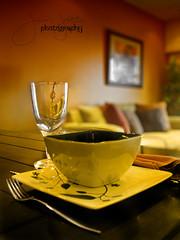 Long Awaited - 10 (Jóvan Jules ρнσтσgяαρну) Tags: china cup glass canon wine fork bowl powershot dining saucer s5 teak jovz88